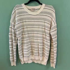 Forever 21 Oversized Striped Cozy Sweater